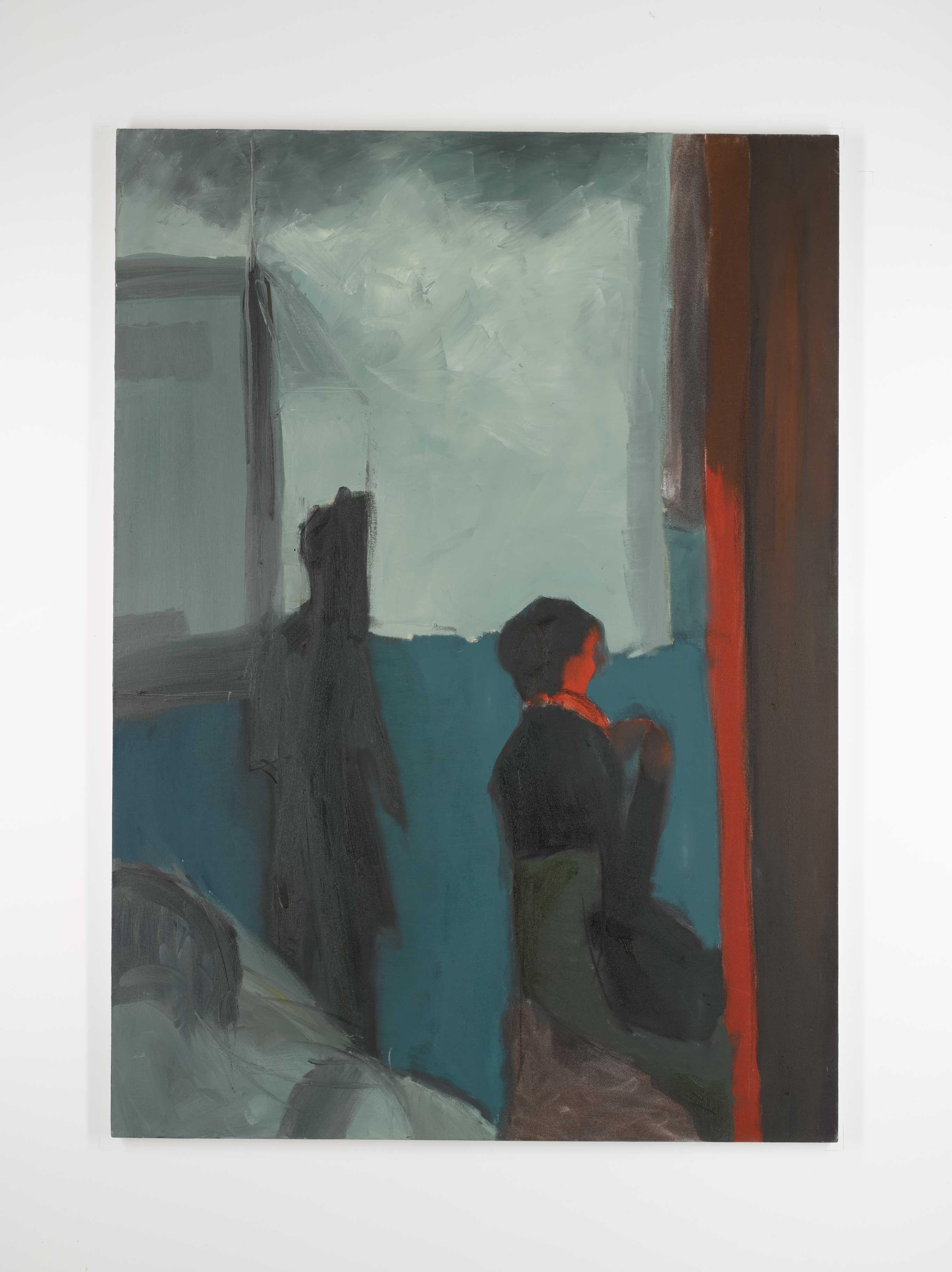 Dublin Blue 125 x90 cm oil on canvas © Austen O'Hanlon