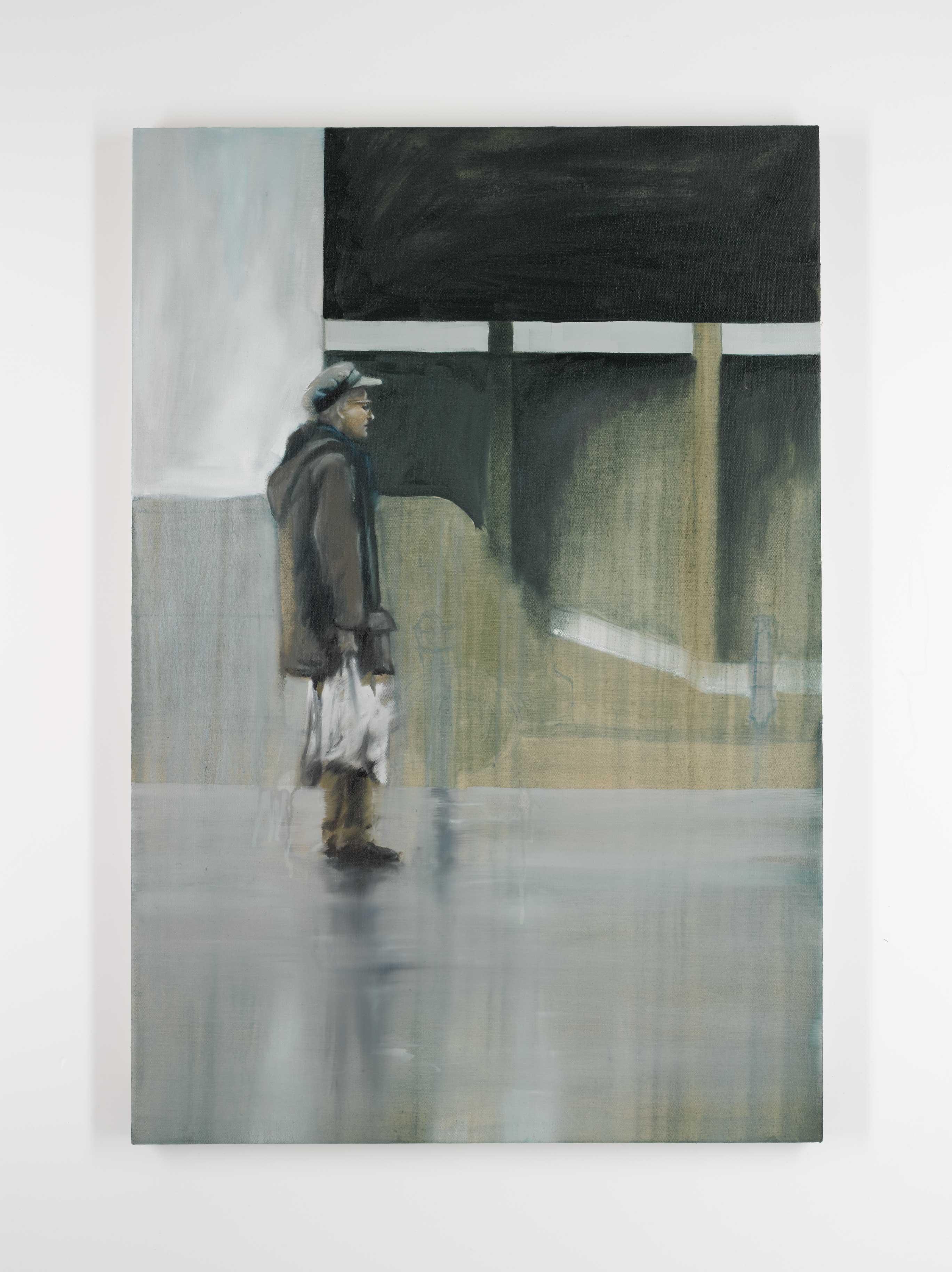 Wardour man 90x70 cm oil on canvas © Austen O'Hanlon