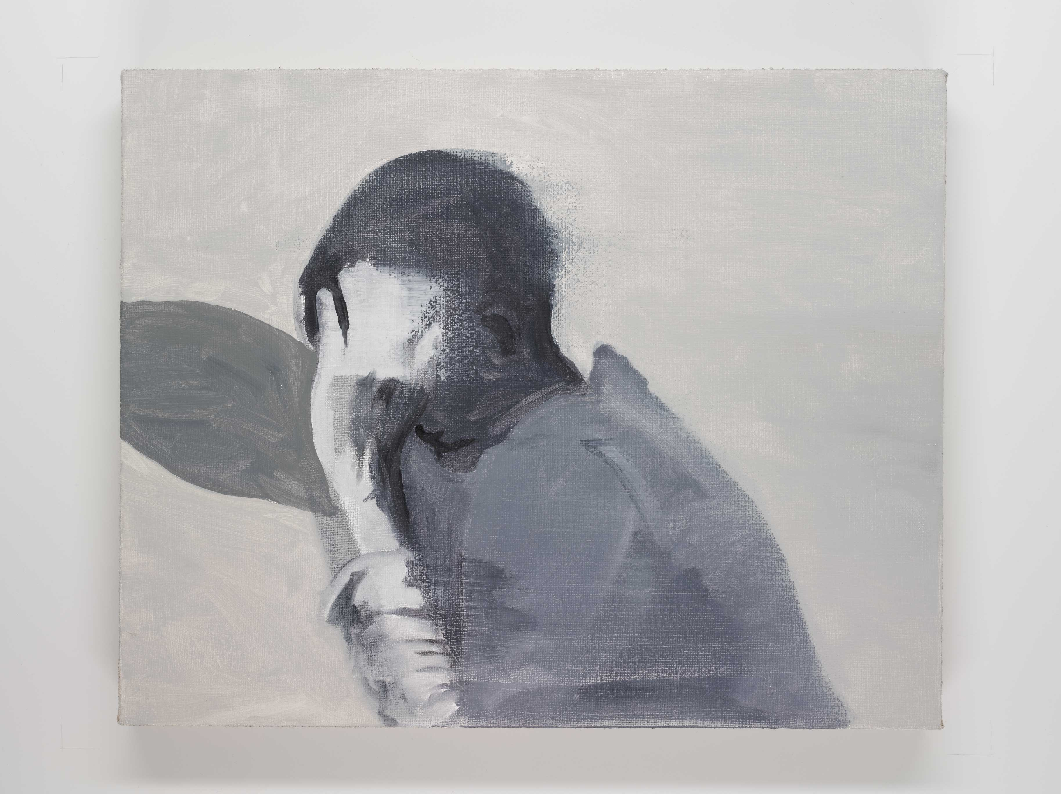 Hidden 40x50 cm oil on canvas © Austen O'Hanlon