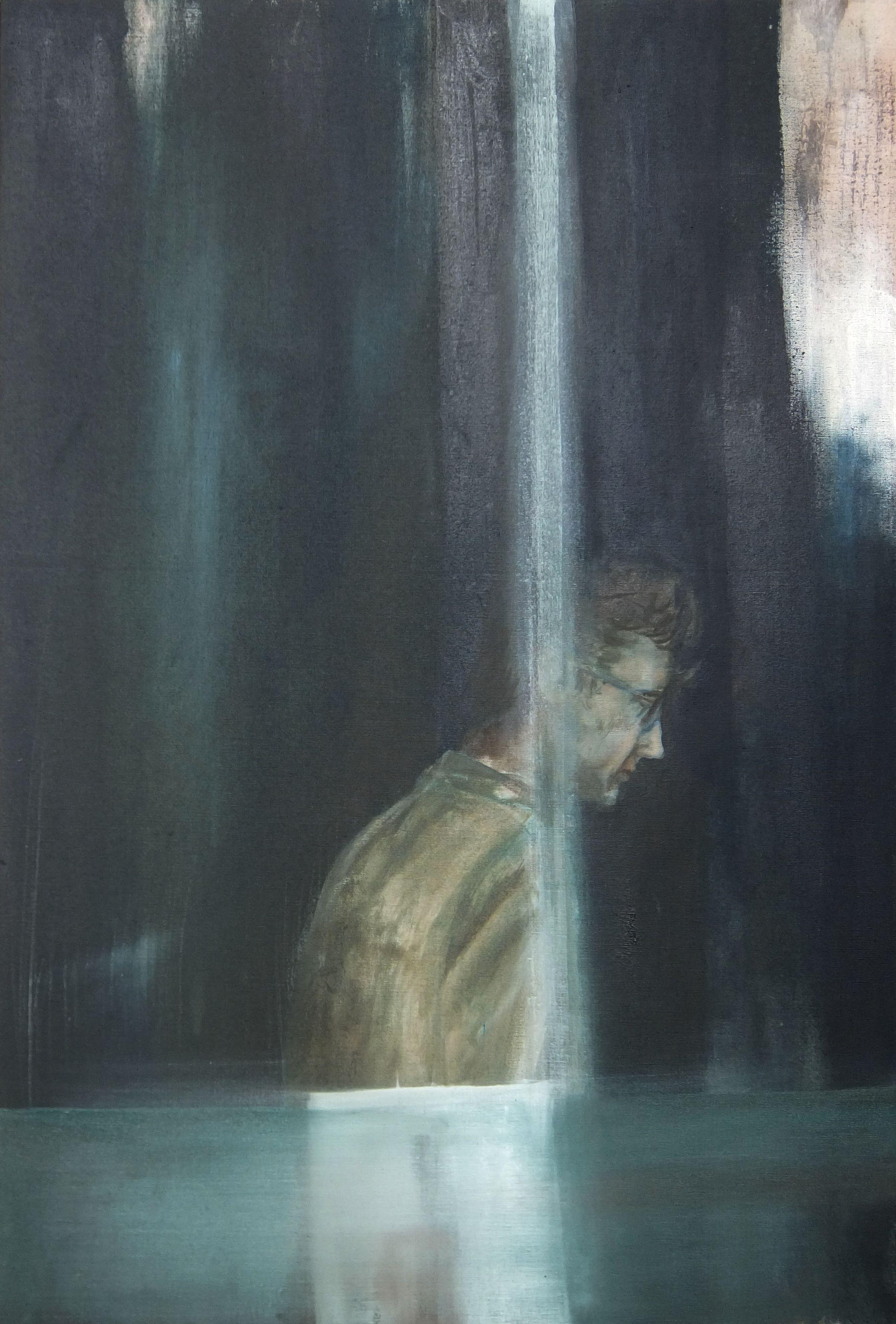 Berwick Hidden 60x 90 cm oil on canvas © Austen O'Hanlon