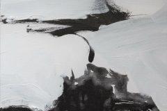 Lindisfarne 40.6x101.6cm oil on canvas © Austen O'Hanlon